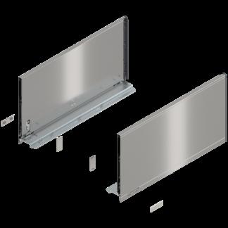 Blum Legrabox F Height Drawer Side 500mm Stainless Steel L&R