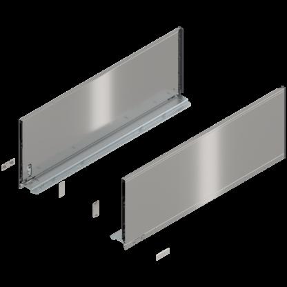 Blum Legrabox F Height Drawer Side 550mm Stainless Steel L&R