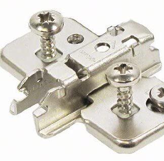 BLUM CLIP mounting plate, cruciform, 3 mm, steel, EXPANDO, HA: cam: 174H7130E