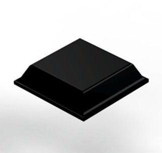 3M SJ-5008 Bumpon Protective Product Black 80 Per Sheet