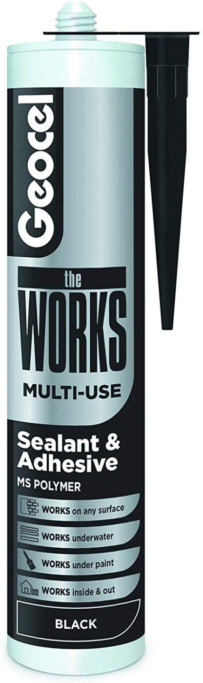 Geocel The Works Multi-Use Black 290ml
