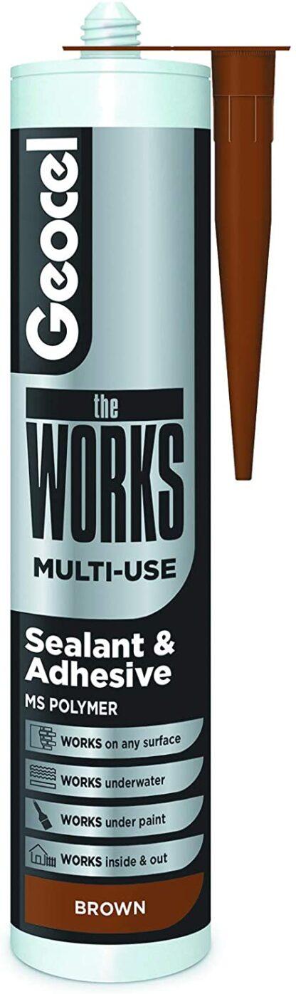 Geocel The Works Multi-Use Brown 290ml