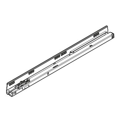 Blum Tandembox Drawer Runner Tip-On Blumotion 30 kg 45 cm left: 578.4501ML