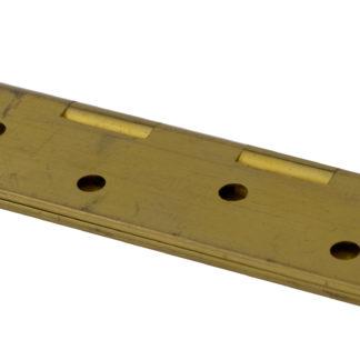 Hinge 102mm x 60mm, Brass, Natural Brass finish