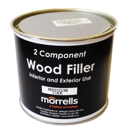 Morrells 46 Range Profix Two Component Wood Filler Pine 750ml With Hardener Tube