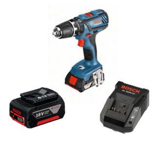 Bosch 18V Compact GSB18-2 Combi Drill Set