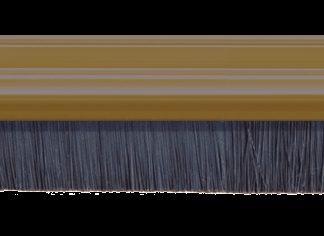 Exitex 914mm Brush Strip Pvc White