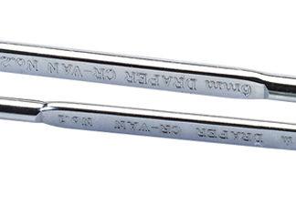 Draper 2 Piece Plain Slot and PZ Type Angled Screwdriver Set : 1241/2