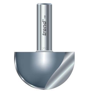 Trend Cove cutter 25.4mm radius : 15/2X1/2TC
