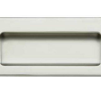Hafele 151.35.262 Flush Handle Matt Chrome 110mm