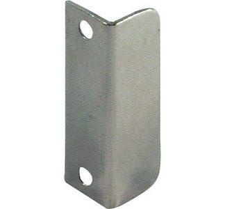 Hafele 239.41.013 Lock Angle Strike Plate Nickel Plated