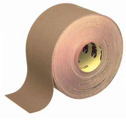 3M 241 UZ Paper Roll 115mm x 50 Meter P100 Grit