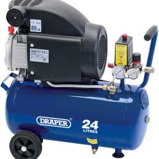 Draper 24L 230V 1.5kW Air Compressor : DA25/207