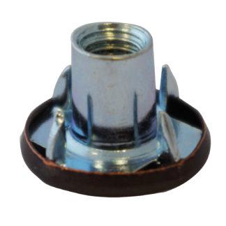 M8 x 15mm Tee Nut With Bronze Cap