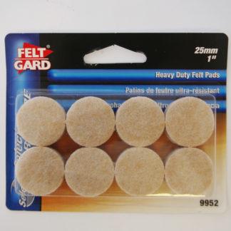 9951 3/4in Feltgard Pads