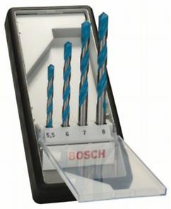Bosch 4-piece Robust Line CYL-9 Multi Construction multi-purpose drill bit set  : 2 607 010 522