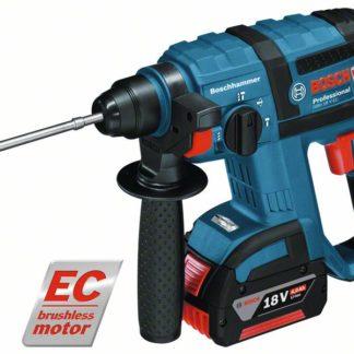 Bosch GBH 18 V-EC Professional Cordless Rotary Hammer 2 x 4ah