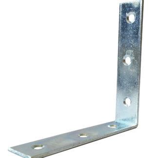 127mm Corner Brace Inside Or Outside Fixing Zinc Plated Finish