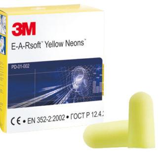 3M EARsoft Neons Foam Ear Plugs