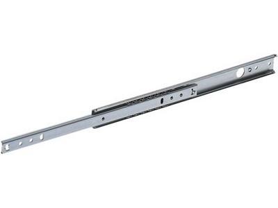 Hafele 420.95.527 12 kg Galvanised Single Extension Drawer Runner 27mm Wide 310mm-516mm Pair