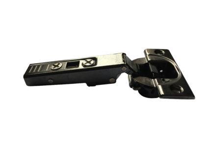 BLUM Cliptop Blumotion full overlay door hinge 110°, screw-on - 71B3550OB Onyx Black