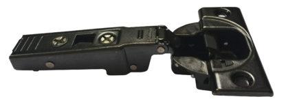 Blum Cliptop Blumotion overlay door hinge 95°, screw-on - 71B9550OB Onyx Black