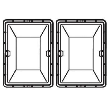 Pullboy Z 64ltr Bin for 450mm Cabinets