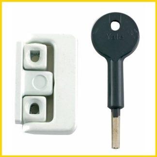 Yale 8K101 White Casement Window Lock