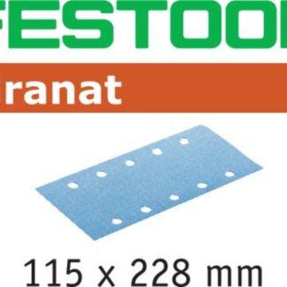 Festool Granat Sanding Sheet 115 x 228mm 120 Grit