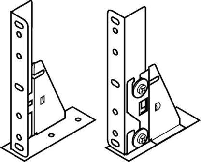 BLUM STANDARD front adjustment element, screw-on, left/right: 296.4500