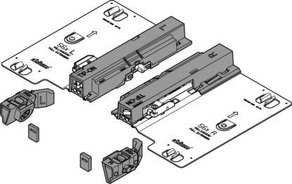 Blum Tip-On Set for Tandem plus Full Extension 560H 30kg T55.7150S