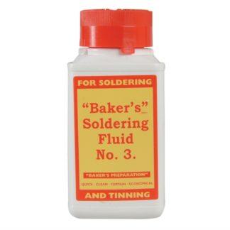 Bakers No.3 Soldering Fluid 125ml