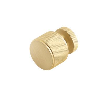 Burlington Solid Brass Piccadilly 30mm Knob Satin Brass