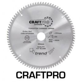 Trend Saw Blade Aluminium and Plastic 260mm Diameter x 96 Teeth x 30mm