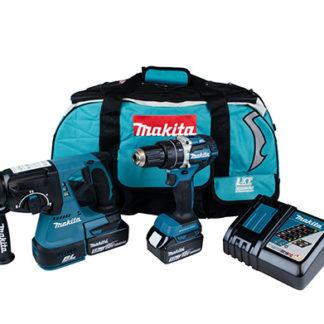 Makita 18V Brushless Combi & SDS Kit Li-Ion