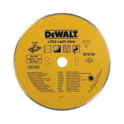 Dewalt DT3734 Diamond Wet Tile Circular Saw Blade