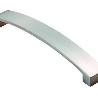 FTD FTD3160ASN Curva Bow Handle 160mm Satin Nickel