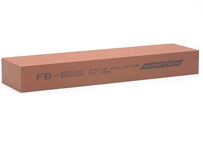 India FB8 Bench Stone 200mm x 50mm x 25mm - Fine