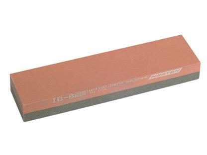India IB8 Bench Stone 204mm x 50mm x 25mm - Combination