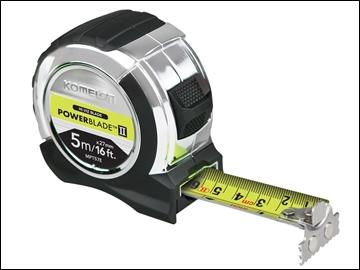 Komelon Hi-Viz Magnetic End Tape Measure 5m/16ft