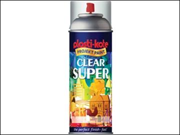 Plastikote Enamel Spray Clear Gloss 400ml