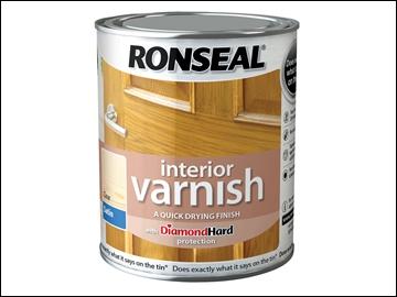 Ronseal Interior Varnish Satin Clear 250ml