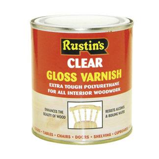 Rustins Polyurethane Varnish Matt Clear 250 ml