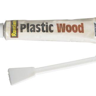 Rustins Plastic Wood Tube Teak