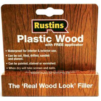 Rustins Plastic Wood Tube Natural