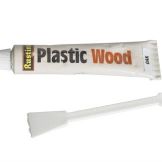 Rustins Plastic Wood Tube Oak