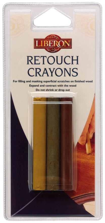 Liberon Retouch crayons Pine 3 pk