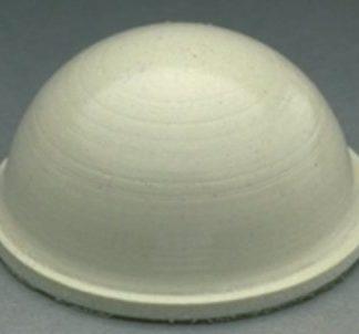 3M SJ-5027 Bumpon Protective Product White 40 Per Sheet