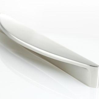 187mm Armac Martin Snowdrift Pull Handle Polish Nickel Finish