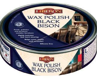 Liberon Wax Polish Black Bison (paste) Medium Oak 150 ml